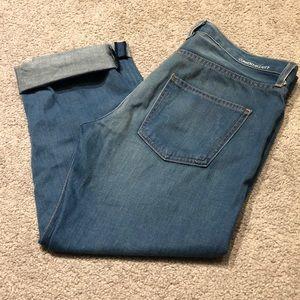 Current Elliott Boyfriend Jeans, Size 28